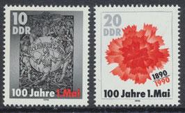 DDR 3322-3323 postfrisch