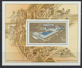 DDR Block 64; 2600 postfrisch