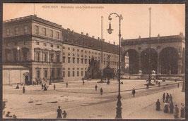 8....   (W-8000)   München   -Residenz und Feldherrnhalle-   (PK-00066)