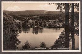 99887   (O-5805)   Bad Georgenthal   -Blick vom Herzogsweg-   (PK-00398)