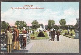 30...   (W-3000)   Hannover   -Herrenhäuser Garten, An der Sonnenuhr-   (PK-00391)