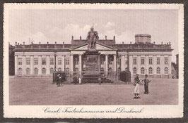 341..  (W-3500)   Kassel    -Friedrichsmuseum und Denkmal-   (PK-00035)