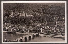 691...    (W-6900)   Heidelberg   -Blick auf Heidelberg vom Philosophenweg-   (PK-00452)