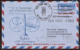 Erstflug Jet Clipper New York - Paris (T-Luftfahrt-FB 0006)