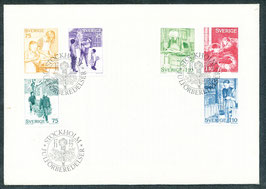 1004-1009 Ersttagsbrief (SE)