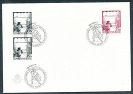 862-863 Ersttagsbrief (SE)