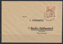BERL 88 Beleg Einzelfrankatur