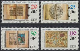 DDR 3340-3343 postfrisch