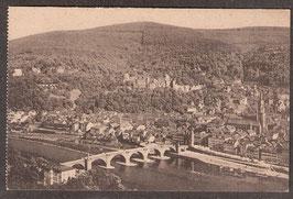 691...    (W-6900)   Heidelberg   -vom Philosophenweg gesehen-    (PK-00217)
