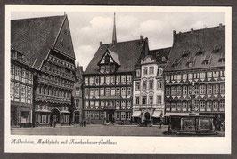 311...   (W-3200)   Hildesheim   -Marktplatz mit Knochenhauer-Amthaus-   (PK-00245)