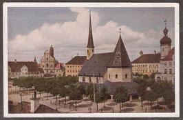 84503   (W-8262)   Altötting   -Blick vom Kapellplatz auf die Basilika St. Anna-   (PK-8262)