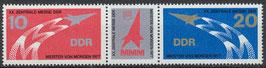 2268-2269 postfrisch Dreierstreifen (DDR)