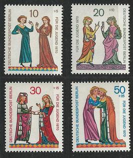 BERL 354-357 postfrische