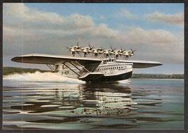 Postkarte Dornier-Flugboot DO X (Erstflug am 12. Juli 1929) (PK-Flugzeug-0001))