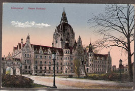 30...   (W-3000)   Hannover   -Neues Rathaus-   (PK-00118)