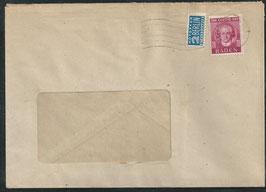 FRZO-BAD 48 auf Brief Einzelfrankatur