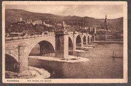 691...   (W-6900)   Heidelberg   -Alte Brücke am Schloß-    (PK-00276)