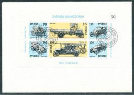 1118-1123 Block 8 Ersttagsbrief (SE)