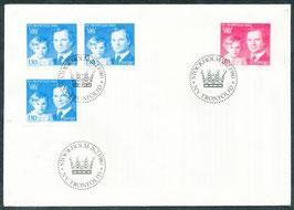 1101-1102 Ersttagsbrief FDC (SE)