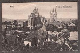 990.   (O-5010)   Erfurt   -Dom und Severikirche-   (PK-00456)