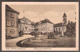78465   (W-7750)   Insel Mainau i.B.   -Schloß und Schloßkirche-   (PK-00070)