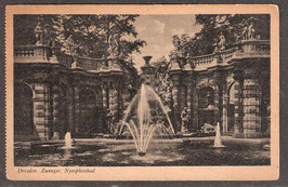 01...  (O-8010)   Dresden  -Zwinger, Nymphenbad-  (PK-00022)
