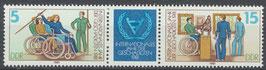 DDR 2621-2622 postfrisch Dreierstreifen