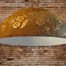 Lampenkap hand gestyled met uniek motief en decoratie