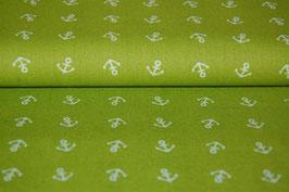 Baumwolle Anker, grün