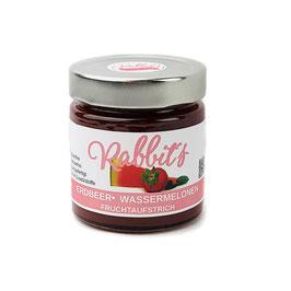 Erdbeer-Wassermelonen Fruchtaufstrich