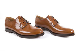 Derby glossy light brown