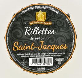Rillette de porc aux St Jacques 80 g.