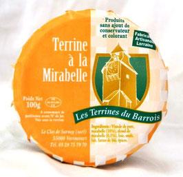 Terrine à la Mirabelle 100g.