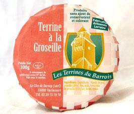 Terrine à la Groseille 100g.