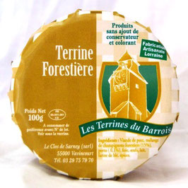 Terrine Forestière 100g.