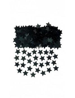 Confettis étoiles noires