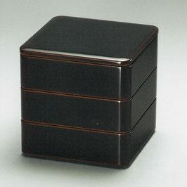 3107-07 溜内朱 三段重箱