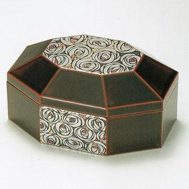 3090-1 ばら 溜 八角小箱