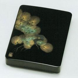 3089-2 寿松 硯箱