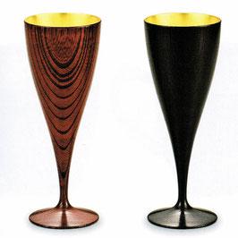 C92-5 ワインペアカップ 欅 響樹 内金箔
