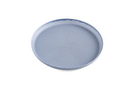 PERFORATED TRAY M - LIGHT BLUE
