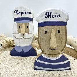 Büste Kapitän und Matrose