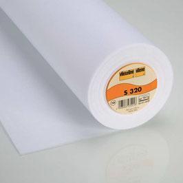 S320 - Aufbügelbare Schabrackeneinlage - weiß