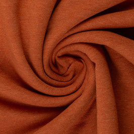 Sommersweat / French Terry terracotta meliert