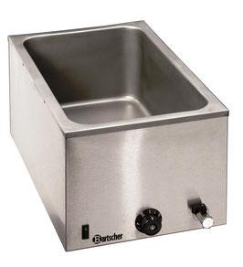 Wasserbad / Bain Marie, 1/1GN, 200mm, mit Hahn (Tischgerät)