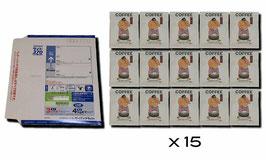 ハコダテマウンテン深煎りドリップバッグ15袋+レターパック370(送料)