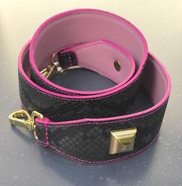 Bag Strap Nathan Grey/rosa