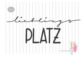 lieblingsplatz {plottervorlage}