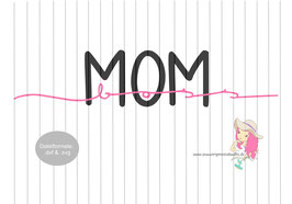 mom boss  {handgelettert}