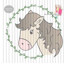 paula pony {plottervorlage}